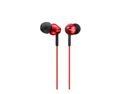 Sony MDR-EX110LP In-Earphone - Red by SONY