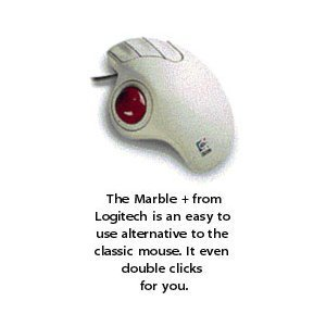 Logitech Trackman Marble Plus Wheel Trackball/Mouse (Logitech Trackman Wheel Trackball)