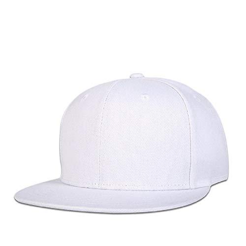 Alcove Unisex White Hiphop/Snapback Cap