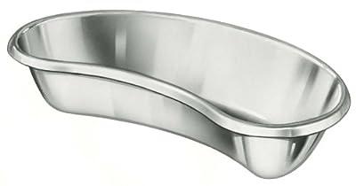 Medline DYND0510Z Stainless Steel Emesis Basins, 26oz., 9.9X4.5X2.1