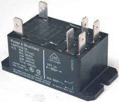 TE CONNECTIVITY / POTTER & BRUMFIELD T92S7D22-12 POWER RELAY, DPST-NO, 12VDC, 30A, (Dpst Relay)