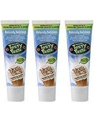 Banilla Bling Anti-cavity Fluoride Toothpaste, Net Wt. 4.2OZ (Pack of - Vanilla Desserts Pudding