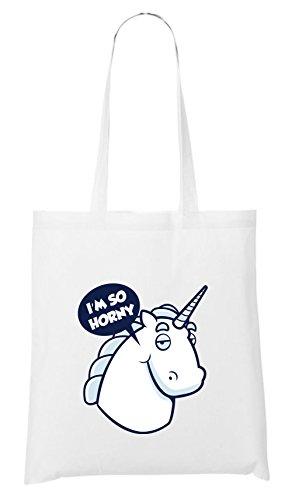 I´m so Horny Bag White Certified Freak