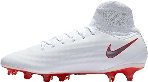 Mixte DF de NIKE Chaussures Football FG Weiß Obra Magista 107 Pro Ah7308 Adulte Weiß 2 SUPIzU