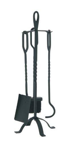 EiFi Kamingarnitur 3-teilig, schwarz 2002117