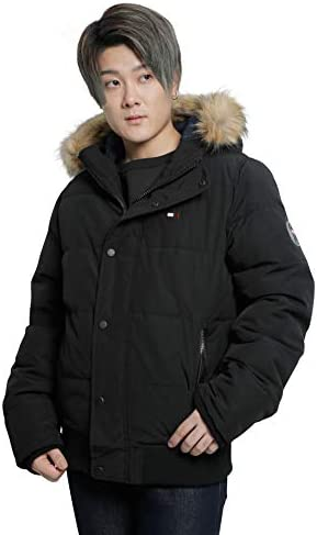 [TOMMY HILFIGER(トミーヒルフィガー)] 中綿ジャケット Updated Arctic Cloth Snorkle Hoody Puffer Jacket