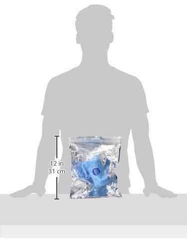 Amazon.com: eDealMax Forma Jardin Bone Light Blue Puppy dispensador de caja y del perrito del Animal doméstico de basura de la basura Bolsa de limpieza: ...