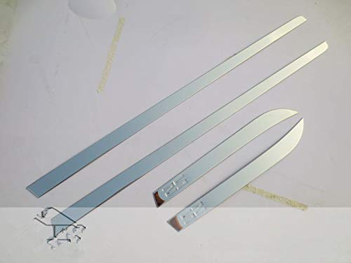 Huanlovely: 304 Stainless Steel The Door of The Body Trim for 2015 JAC Refine S2 Car Styling