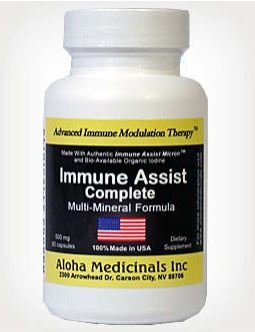 Aloha Medicinals Immune Assist Complete - 500mg - 60 Capsules