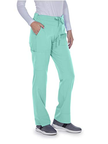 Greys Anatomy Scrubs Petite - Grey's Anatomy Signature 2207 Callie Low Rise Pant Seafoam 2XL