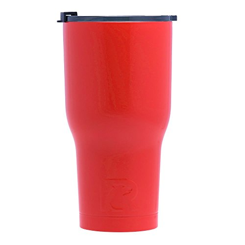 RTIC Double Wall Vacuum Insulated Tumbler, 30 oz, Red