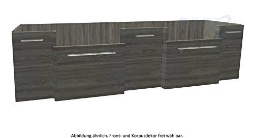 PELIPAL SOLITAIRE 7030 Waschtischunterschrank / WTUSL 05 / Comfort E / 186x48,2x49,3cm
