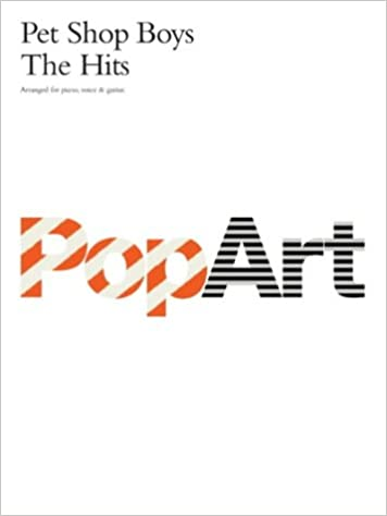 Amazoncom Pet Shop Boys Pop Art The Hits Music Book