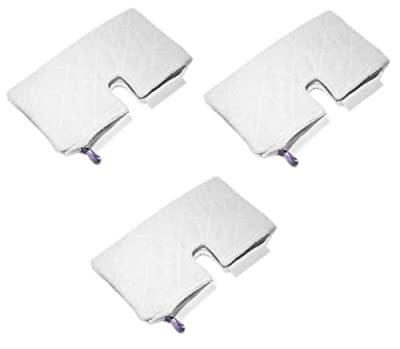 3 Replacement Cleaning Microfiber Pads for Shark Pocket Steam Mop S3550 S3501 S3601 S3901