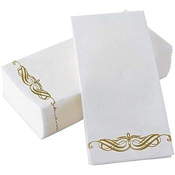 Amazon Com Disposable Paper Hand Towels Cloth Feel