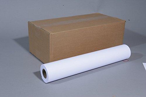 Plotterpapier CAD 80g unbesch. weiß 914mm x 50m 6 Rollen
