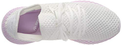 White ftwr White W Para Gimnasia Blanco De ftwr Adidas Zapatillas Mujer Deerupt Lilac clear RUZfqP