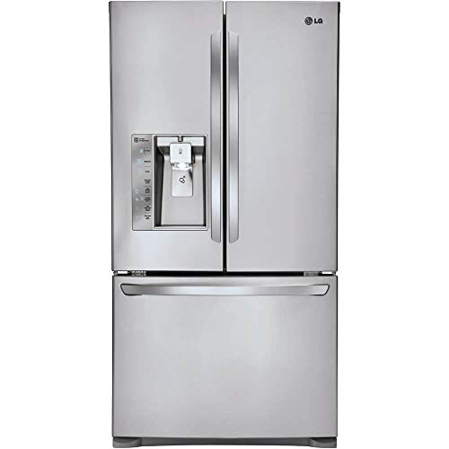 LG LFXC24726S24.0 Cu. Ft. Stainless Steel Counter Depth French Door Refrigerator - Energy Star (Renewed)