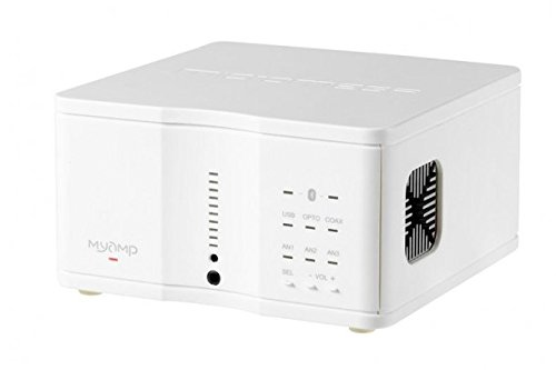 micromega - MyAmp Integrated Amplifier/DAC/Headphone Amp in White
