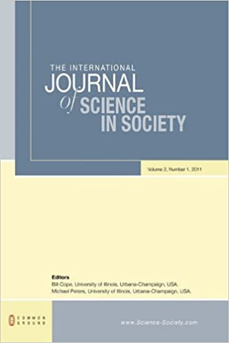 Read The International Journal of Science in Society: Volume 2, Number 1 PDF, azw (Kindle), ePub