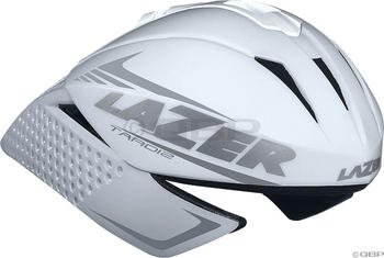 Lazer Tardiz TT and Tri Helmet: White; LG