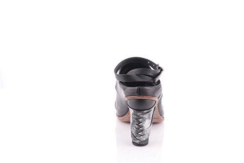 A.s.98 Sandalo Con Tacco Argo 637001-202 Nero Airstep As98 Schwarz