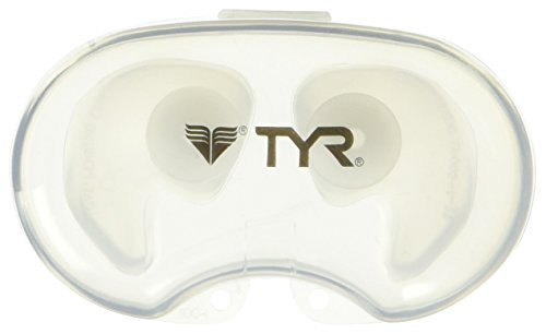 TYR Silicone Molded Ear Plugs, Clear