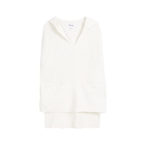 Derek Lam 10 Crosby Wool Cashmere Ivory Poncho free shipping