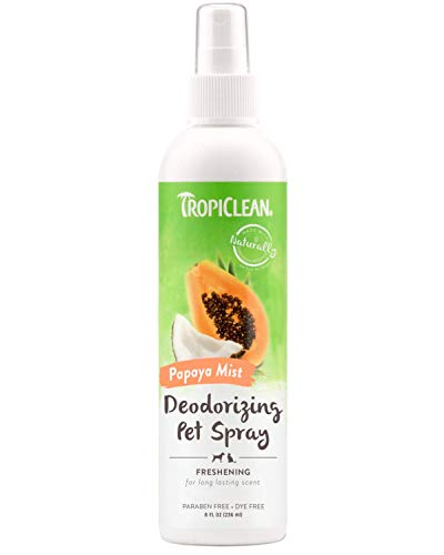 TropiClean Papaya Mist Deodorizing Pet Spray (Dog Mist)