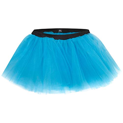 (Gone For a Run Runners Tutu Lightweight | One Size Fits Most | Neon Blue)