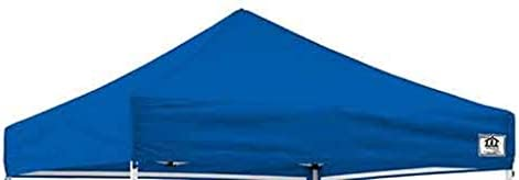 Impact 10 x 10 Canopy Cover, Pop-Up Canopy Tent Cover, Waterproof Commercial Grade, Replacement Canopy Cover Only, Royal Blue