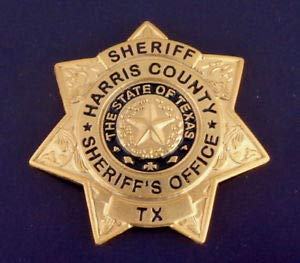 Harris County Texas Sheriff Sheriff's Office Mini Badge for sale  Delivered anywhere in USA