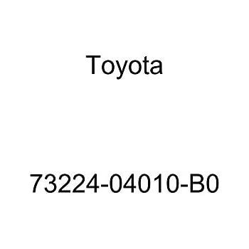 Genuine Toyota 73224-0C010-E0 Seat Belt Retractor Cover