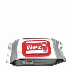 Cafe Wipz™ Wipz™ Disinfecting Wipes, 12 Packs of 100 (02-0101) Category: Disinfecting Wipes, Cleaners and Sanitizers -  URNEX BRANDS INC, 19-WIPZ12-100