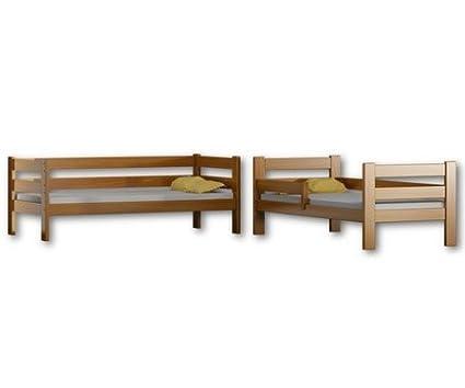 Legno due posti letto 180x80 struttura in legno di pino White Letto a castello Sophie 180/x 80 cm