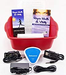 ION BALANCE  Ionic Detox Foot spa Bath Chi Cleanse Unit for Home Use with Free Foot Basin and 2 Super Duty Arrays by Better Health Company Free Regain Health & Vitality Booklet & Brochure!