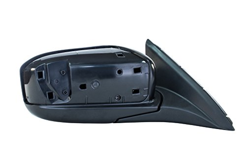Passenger Side Mirror for Honda Accord LX/EX/SE Models 4-door sedan (2003 2004 2005 2006 2007) Folding Power Adjusting Non-Heated Right Side Rear View Outside Door Mirror Replacement