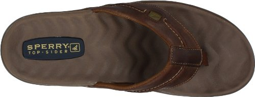 Sperry Top-sider Heren Double Marlin Zeilboot String Bruin / Olijfgroen