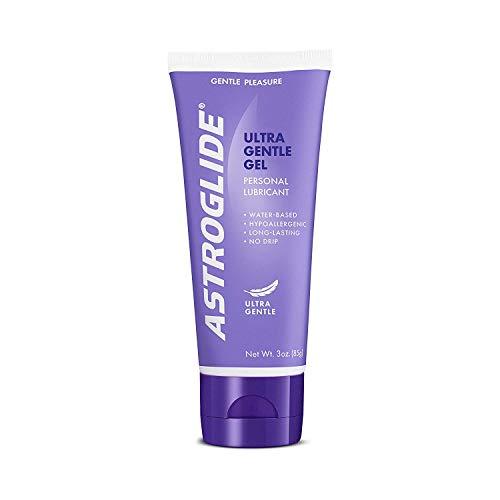 Astroglide Ultra Gentle Gel, Water Based Personal Lubricant, 3 oz. Astroglide Warming Sexual Lubricant