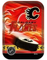 Calgary Flames .. NHL Hockey Logo Playing Cards in Tin Box... New