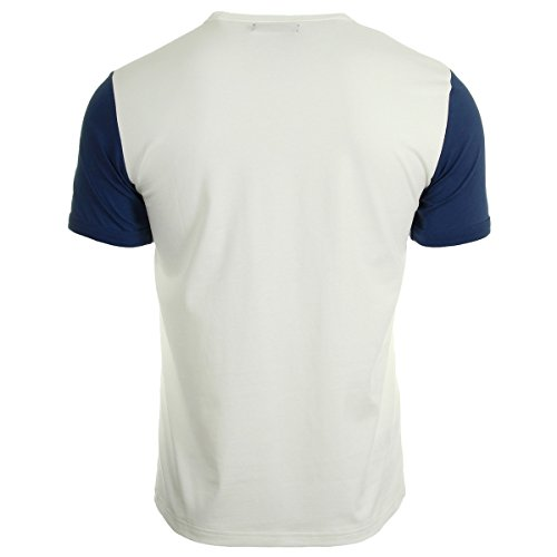 Fred Perry T Shirt Colour Snow White, T-shirt