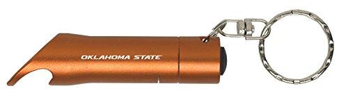 - Oklahoma State University–Stillwater - LED Flashlight Bottle Opener Keychain - Orange