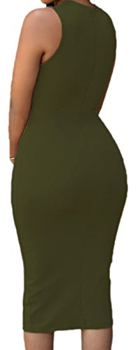 erdbeerloft - Vestido - Opaco - para mujer Verde