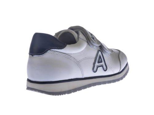 ANGELITOS , Jungen Sneaker weiß weiß 20 Weiß-Marineblau