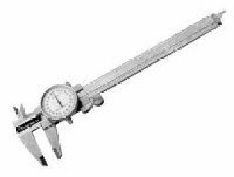 0-6in. Stainless Steel Dial Caliper