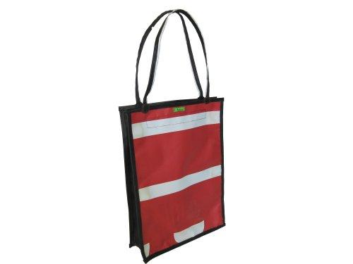 Tubeline Shopper, Tasche aus LKW Plane und Fahrradschlauch - 45x30 cm - Style #004