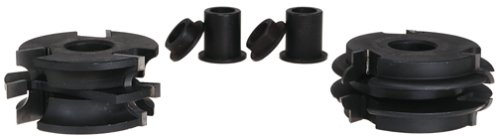 Freud EC-266 2-Sided Beading Profile Shaper Cutter Set For 1-Inch Rail And Stile Doors - 3/4 Bore