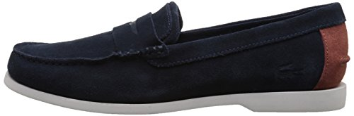 Lacoste Men's Navire Penny 216 1 Slip-On Loafer, Navy, 9.5 M US by Lacoste (Image #5)