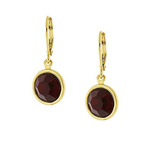 1928 Jewelry Swarovski Elements Drop Earrings