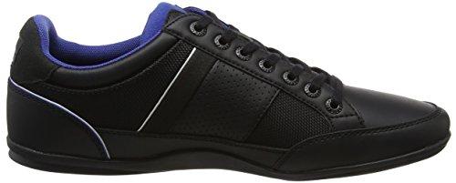 Lacoste Herren Chaymon 218 1 Cam Sneaker Schwarz (blk / Dk Blu 1z2)